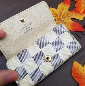Louis Vuitton 4key holder wallet Genuine